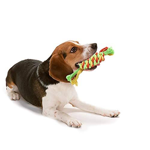 Wokee Hundespielzeug Rope Toy,Ball,Interaktives Tug Krieg der Zähne Haustier-Spielwaren -
