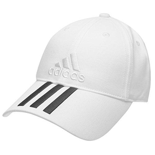 Adidas Casquette de baseball Réglable Avec 3 bandes emblématiques brodées Pour enfants de 6 à 12...
