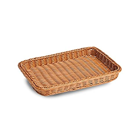 Shallow Polywicker Tray 4*36*24