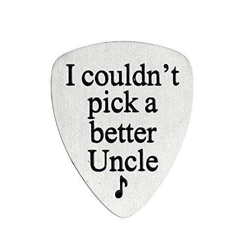 bespmosp Musik Lover Geschenk I Couldn 't Pick eine bessere Uncle Gitarre Plektrum Weihnachten Geschenk für Onkel