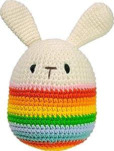 Strickmoden Bruno Barthel 87000-052300 - Huevo de Ganchillo (tamaño pequeño), Multicolor