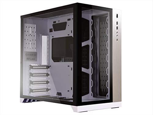 Lian Li PC-O11 Dynamic Midi-Tower Weiß - Computer-Gehäuse (Midi-Tower, PC, Aluminium, SECC, Gehärtetes Glas, Weiß, ATX,EATX,Micro ATX, 15,5 cm)