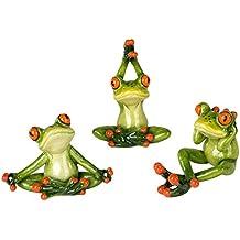 suchergebnis auf f r deko frosch yoga. Black Bedroom Furniture Sets. Home Design Ideas