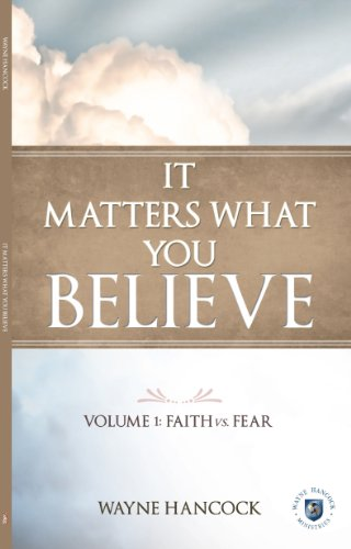 It Matters What You Believe (English Edition) PDF Books