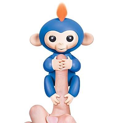 Fingerlings Pet Electronic Little Baby Monkey Children Kids Interactive Toy (Black)