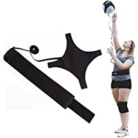 LZBD Ultimate Volleyball Trainer Practice Belt,Outdoor Training Football Top Ball Adjustable Belt Trainer Aid Accessories