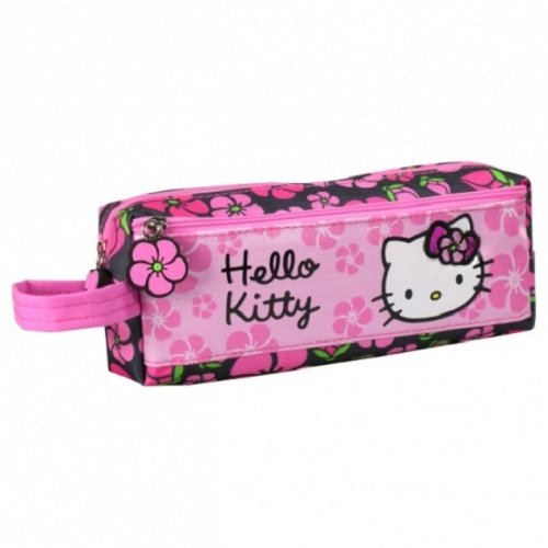 HELLO KITTY TROUSSE 2 COMPARTIMENTS TROUSSE MAQUILLAGE BEAUTÉ SANRIO (A38)
