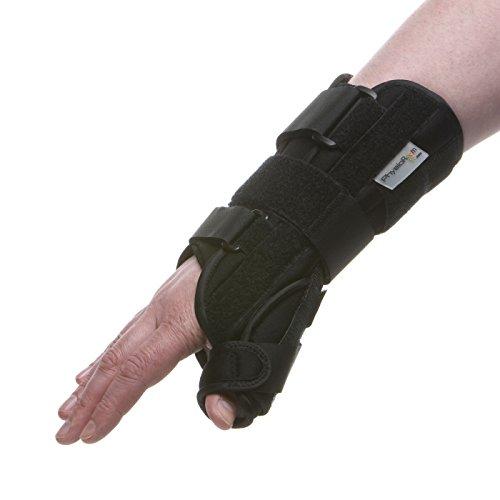 Physio Room Handgelenkschiene mit Daumenschiene – Handagelenkbandage mit Daumenorthese Large...