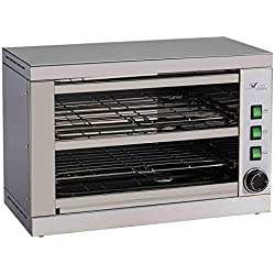 Toaster-salamandre avec minuteur - 2 niveaux