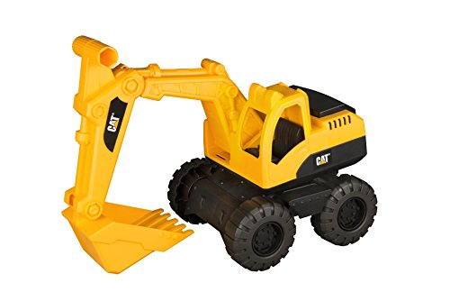 r CAT Tough Tracks Construction Crew Excavator Vehicle by Toystate ()