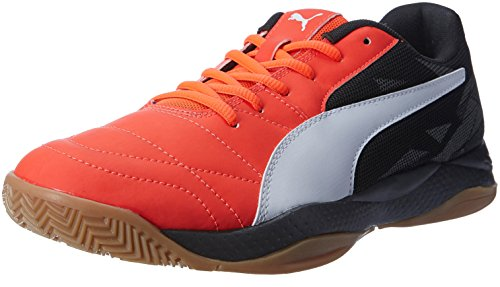 Puma Veloz Indoor Iii, Chaussures de Fitness Mixte Adulte Rouge - Rot (Red blast-White-Black 01)