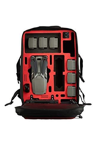MC-CASES® Rucksack für DJI Mavic 2 Pro oder Zoom/Enterprise - Standard oder DJI Smart Controller - Extrem komfortabel - Viel Platz -