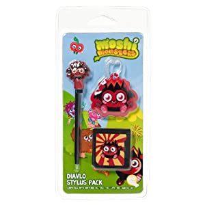 NEW! Moshi Monsters Stylus Pack Diavlo for Nintendo DS Lite DSi XL 3DS
