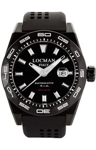Locman 0215V4KKCKNKS2K Black Titanium Man Watch
