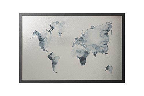 Bi-Office - Pizarra Mapamundi Ink