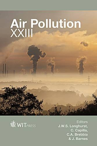 Air Pollution XXIII (WIT Transactions on Ecology and the Environment)