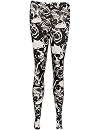 Mix lot Ladies,Womens Printed Casual/Summer Wear Stretchy Skin Fit Tights Sizes 16-26