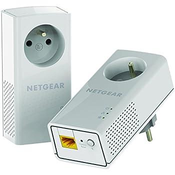 Netgear - PLP1200-100FRS - Adaptateurs CPL 1200 Mbit/s - Pack DE 2 - Blanc
