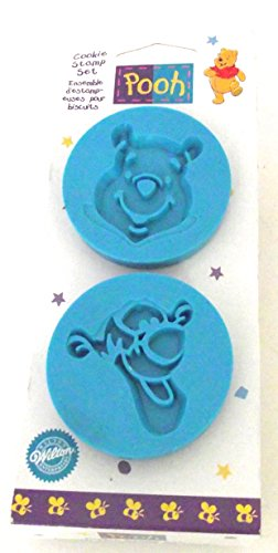 Wilton Winnie the Pooh and Tigger Cookie Stamp Set by Wilton