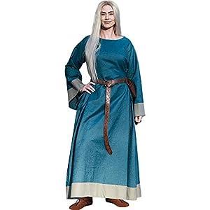 Epic Armoury- Dress Freya-DesertBeige/Darkred-XS vestido, Color (Iron Fortress 33070940)