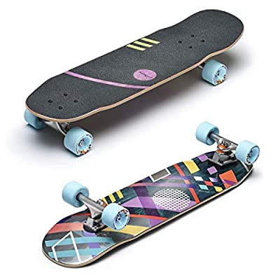 Unbekannt Loaded Boards Cruiser Komplettboard Coyote All Around Paris Street 129mm Fat Free 78,1cm (Multi)
