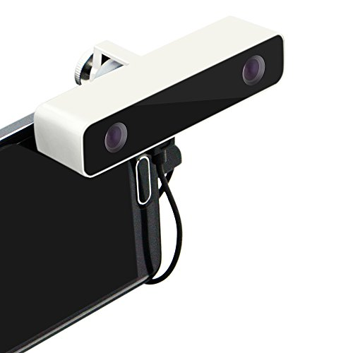 Virtuelle Realität 3D-Kamera - Swpro VR Aluminium-Doppelobjektiv 720P HD Im Freien Video Schießen 3D-Kamera (weiß)