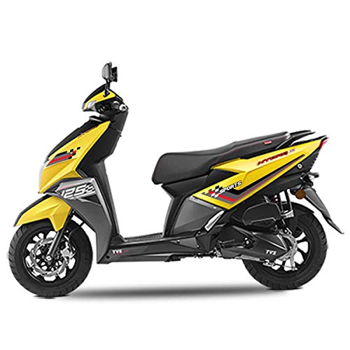 Autographix Sport Tag Scooter Graphic Stickers for TVS Ntorq - Set of 4 pcs