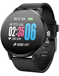 Omiky® Wasserdicht Smartwatch,Herzfrequenzaktivität Schrittzähler Kalorienüberzug Intelligentes Armband Smart Uhr,Perfekt Geeignet für Kinder,Frauen, Männer