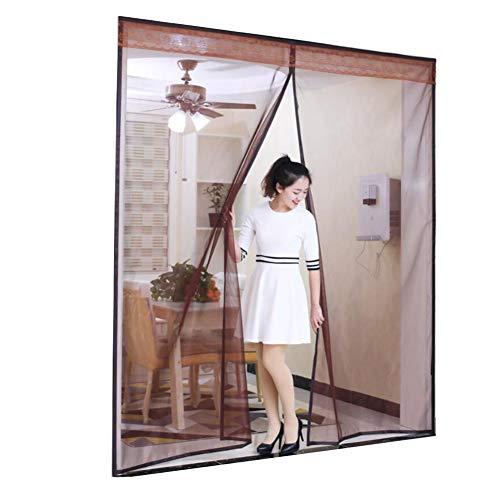 CDOORT Große Magnetische schirmtür, Moskito-Fehler Bildschirm ausschalten Halten Moskito-wanze insekt hinausfliegen Full-Frame-Dichtung Bequem Magnetvorhang-C 190x220cm(75x87inch) - Küche Vorhänge Terrasse