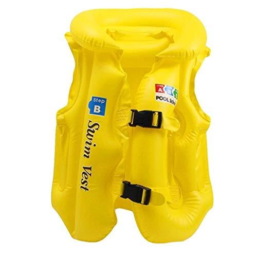 amilses Aufblasbare Badeanzug-Schwimmweste der Kinder Schwimmanzug Schwimmwesten Schnorchel