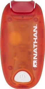 StrobeLight : Clip on : lightweight : water resistant : LED light - Tango Red - 5071NTD