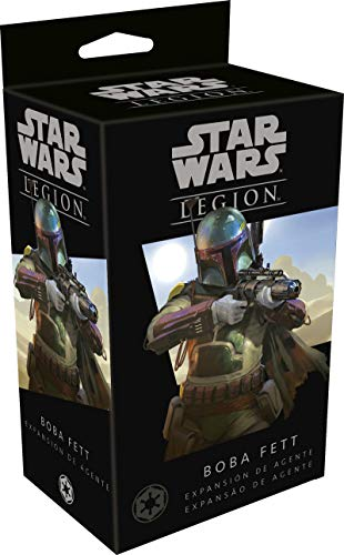 Fantasy Flight Games- Star Wars Legion: Boba Fett - Español, Color (FFSWL18)