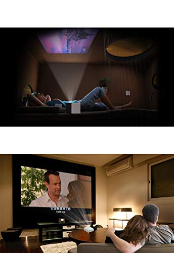 HONGLIProjector Mini Micro Entertainment Portable Home LED Projector