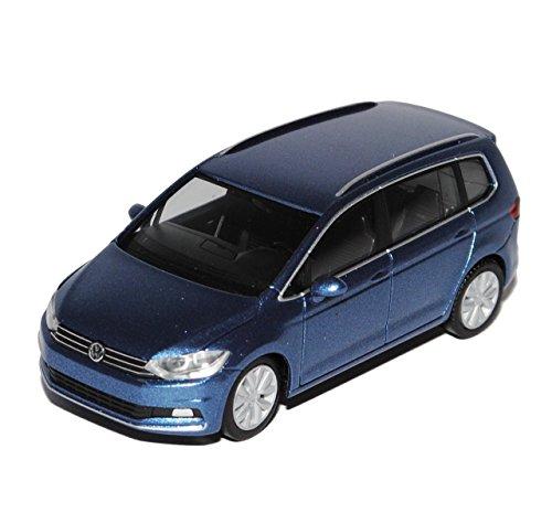 Preisvergleich Produktbild VW Volkswagen Touran II Blau Grau Ab 2015 H0 1/87 Herpa Modell Auto