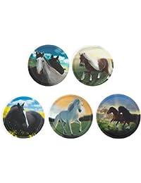 ergobag Klettie-Set Wilde Pferde