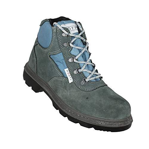 Modyf Alta Scarpe da Lavoro Scarpe da Trekking S1P Scarpe di Sicurezza Grigio B-Ware, Dimensione:37 EU
