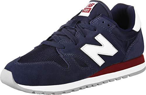 New Balance U520-D Sneaker blau/weiß, 9.5 US - 43 EU - 9 UK