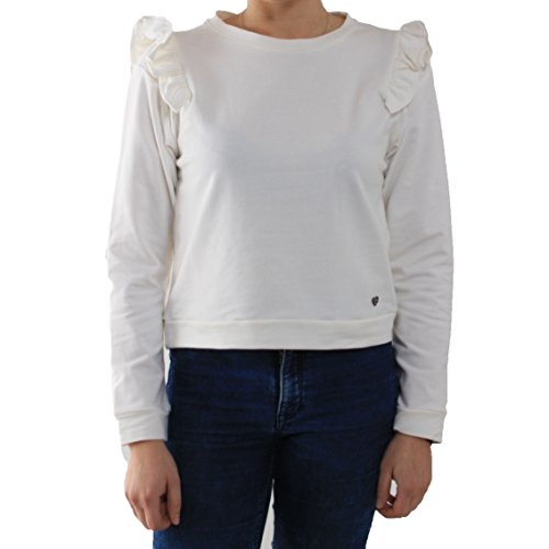 Please - Sweat-shirt - Femme Crème