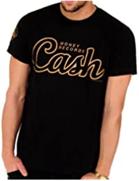 YMCMB - T-shirt CASH MONEY RECORDS Script Noir