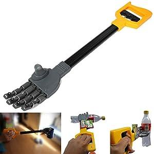 F-blue Kunststoff-Roboter-Greifer-Hand Grabber Grabbing-Stick Kid Klaue Hand Boy Toy Hand Handgelenk Stärkung DIY…