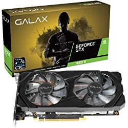 GALAX GeForce® GTX 1660 Ti (1-Click OC) 6GB GDDR6 192-bit DP/HDMI/DVI-D Graphic Card