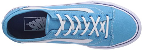 Vans Style 36 Slim, Chaussons Sneaker Adulte Mixte Bleu (Cyan Blue/True Fry)