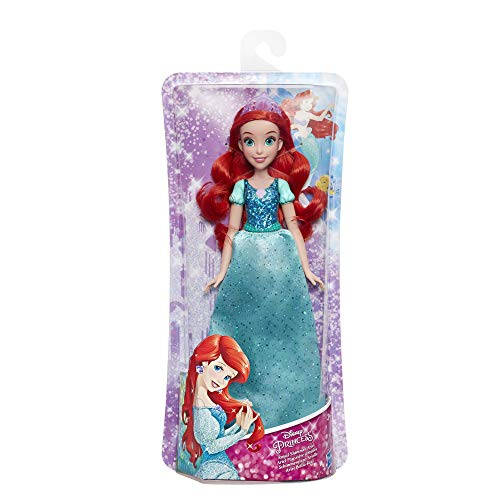 Hasbro E4156ES2 - Disney Prinzessin, Schimmerglanz Arielle, Puppe