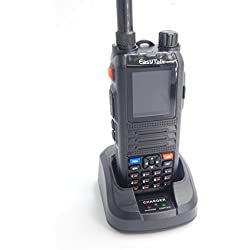 Walkie-talkie radio amateure cp2000 8 W PMR 446 Dual Band VHF UHF 2 m 70 cm two Way Radio handfunkgeräte impermeable IP55 + Cable de Programación