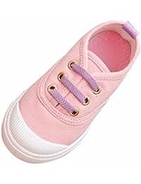 BBsmile zapatos de bebé Baby Fashion Color caramelo Lona Zapatillas Zapatos casuales para niños