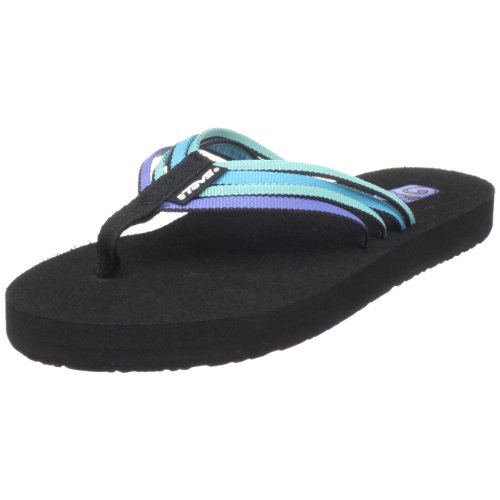 Teva Mush Adapto W's 8776, Infradito donna Blu (Blau (electric blue multi))