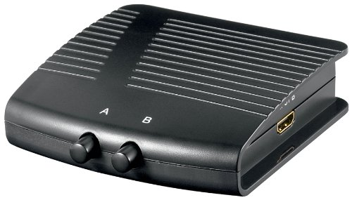 Wentronic AVS 20 2-fach Manuelle HDMI Umschaltbox Avs-7 Schalter