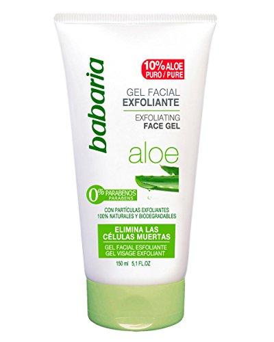 Babaria Aloe Vera - Gel exfoliante facial