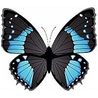 Autoaufkleber Sticker Schmetterling blau Aufkleber