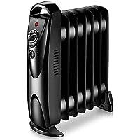 Calentadores JXQ 700W Mini radiador Lleno de Aceite para el hogar y la Cocina y la